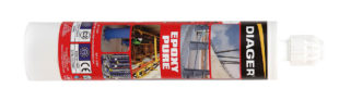 Fixation chimique EPOXY PURE Résine epoxy Diager F352650E