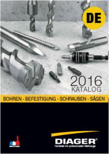 DIAGER-KATALOG-BOHREN - BEFESTIGUNG - SCHRAUBEN - SÄGEN - ALL-2016-D00256