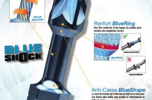 Nouvel embout vissage impact Blue-shock