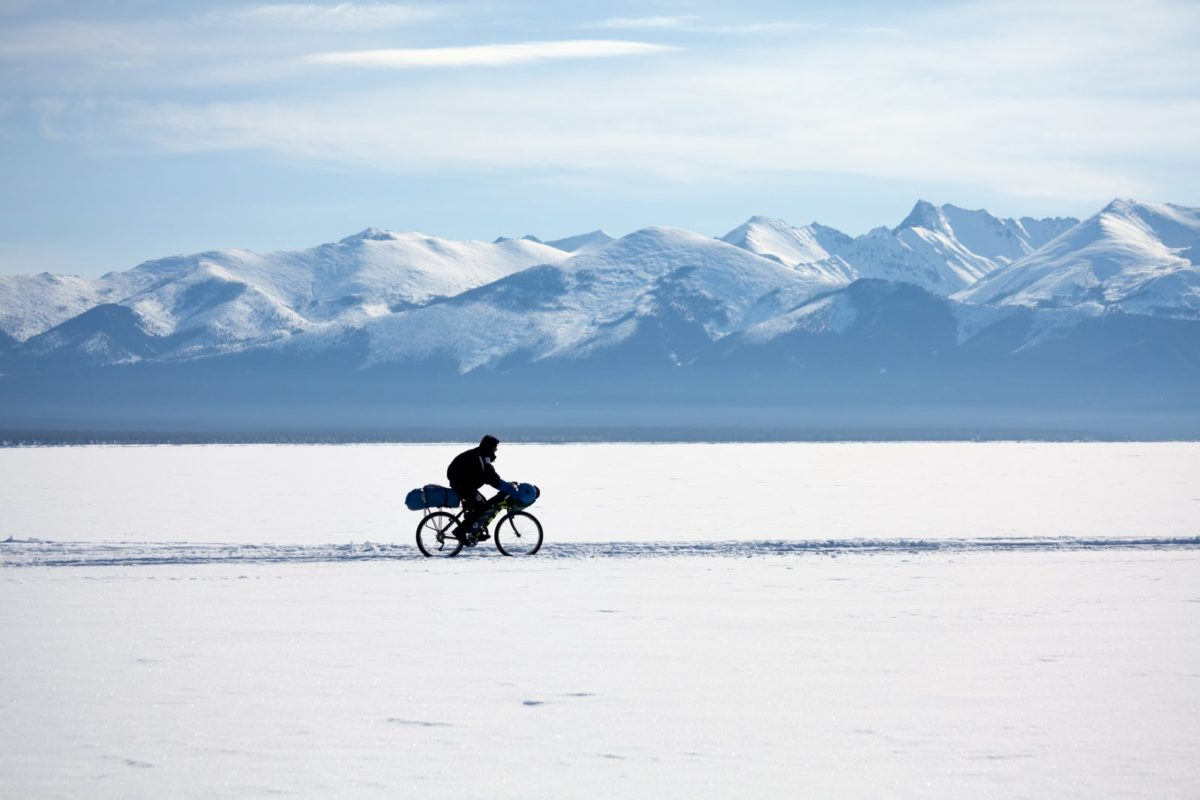 Traversée de la Sibérie en vélo et en hiver