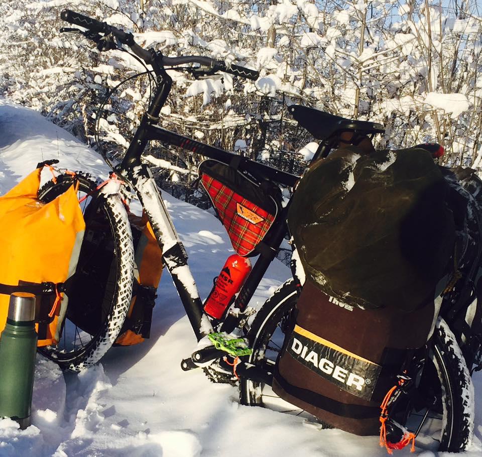 The bike ride Yakutsk – Magadan 2011