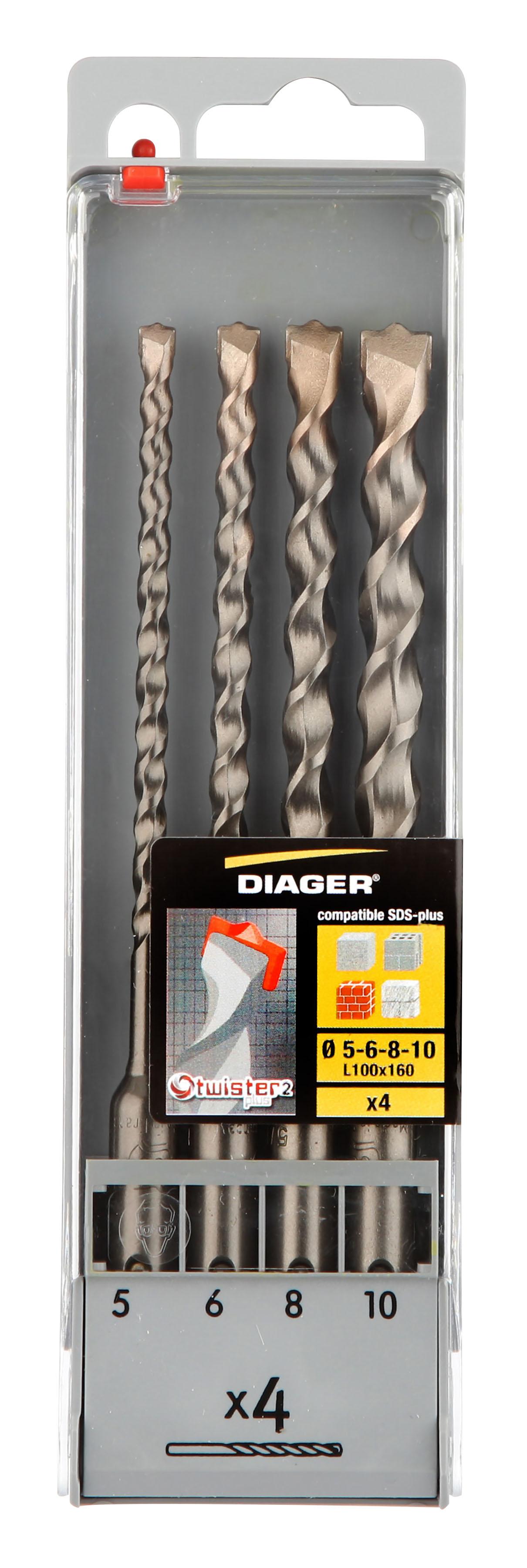 Perçage Twister Plus Coff plast. 4pcs Twister-plus L160 Ø5-6-8-10 - 100C.jpg