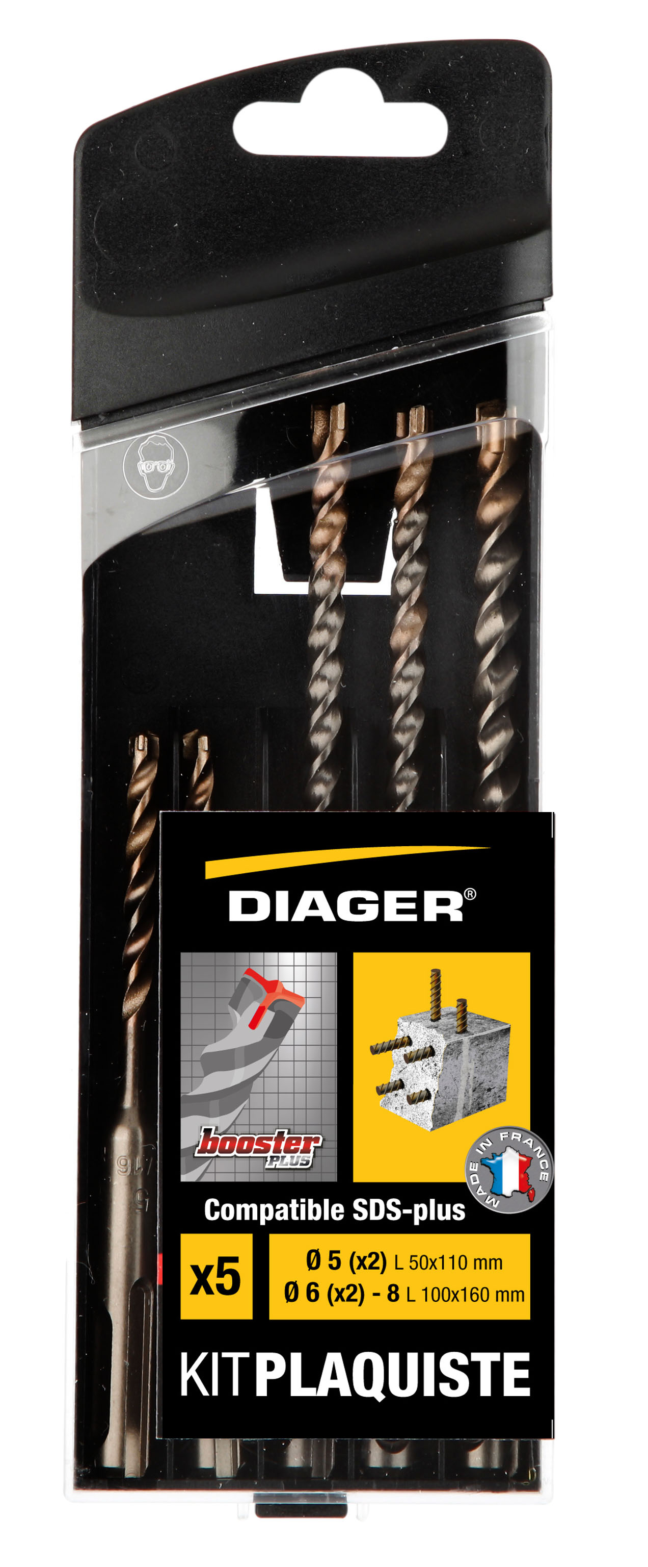 Perçage Booster Plus Kit Plaquiste 5pcs L110 Ø5(x2) L160 Ø6(x2)-8 - 115C.jpg