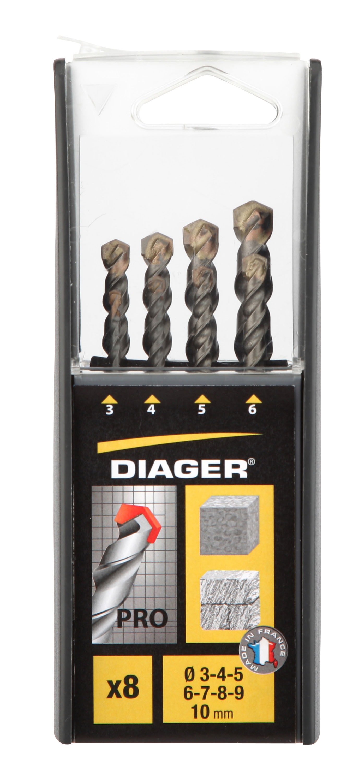 Drilling Pro Set 8 PRO mansonry drill bits sizes Ø 3-4-5-6-7-8-9-10mm - 299B.jpg
