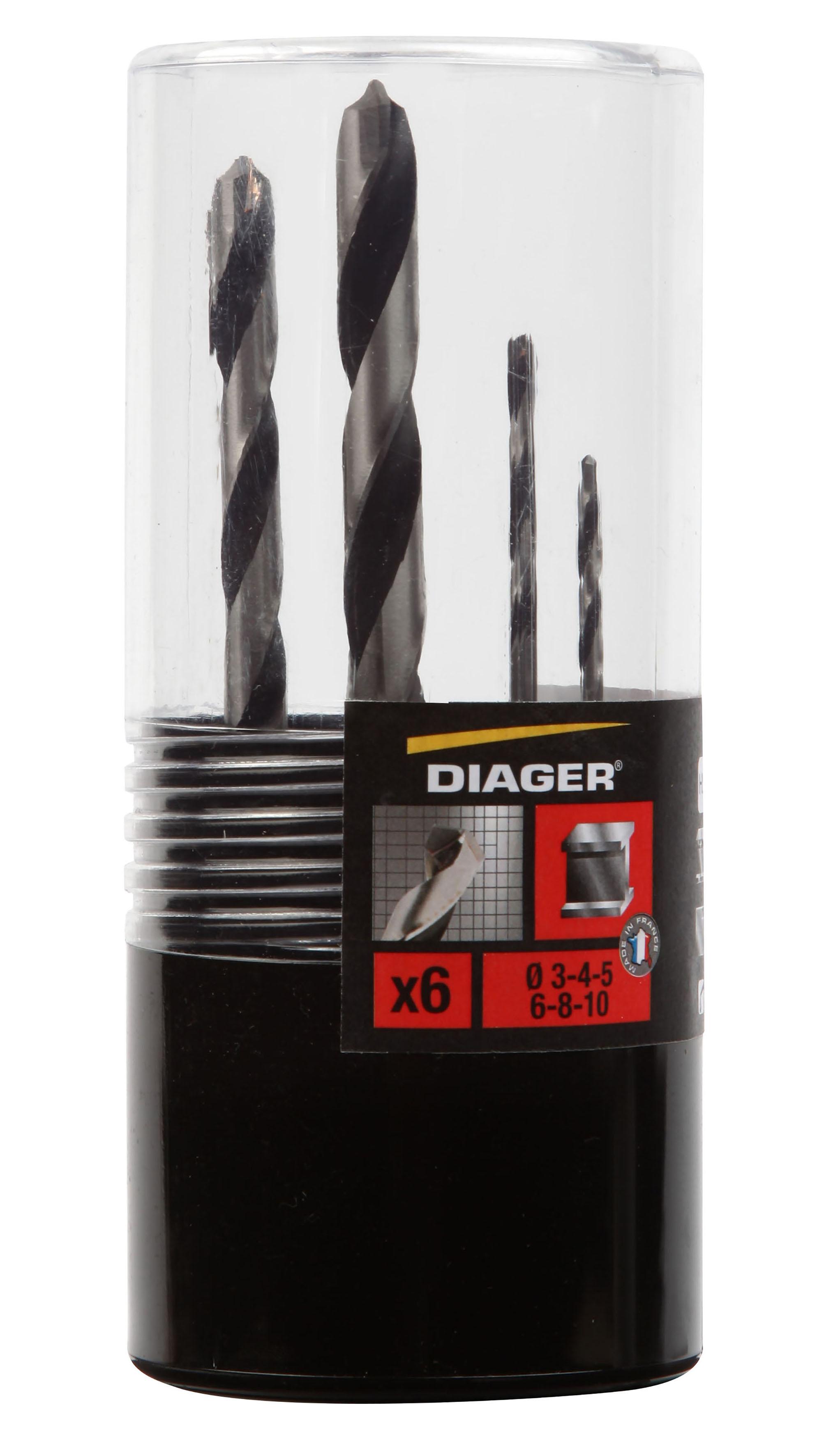 Perçage Foret carbure Kit Foret Plaquette D2409 6pcs - 507C.jpg