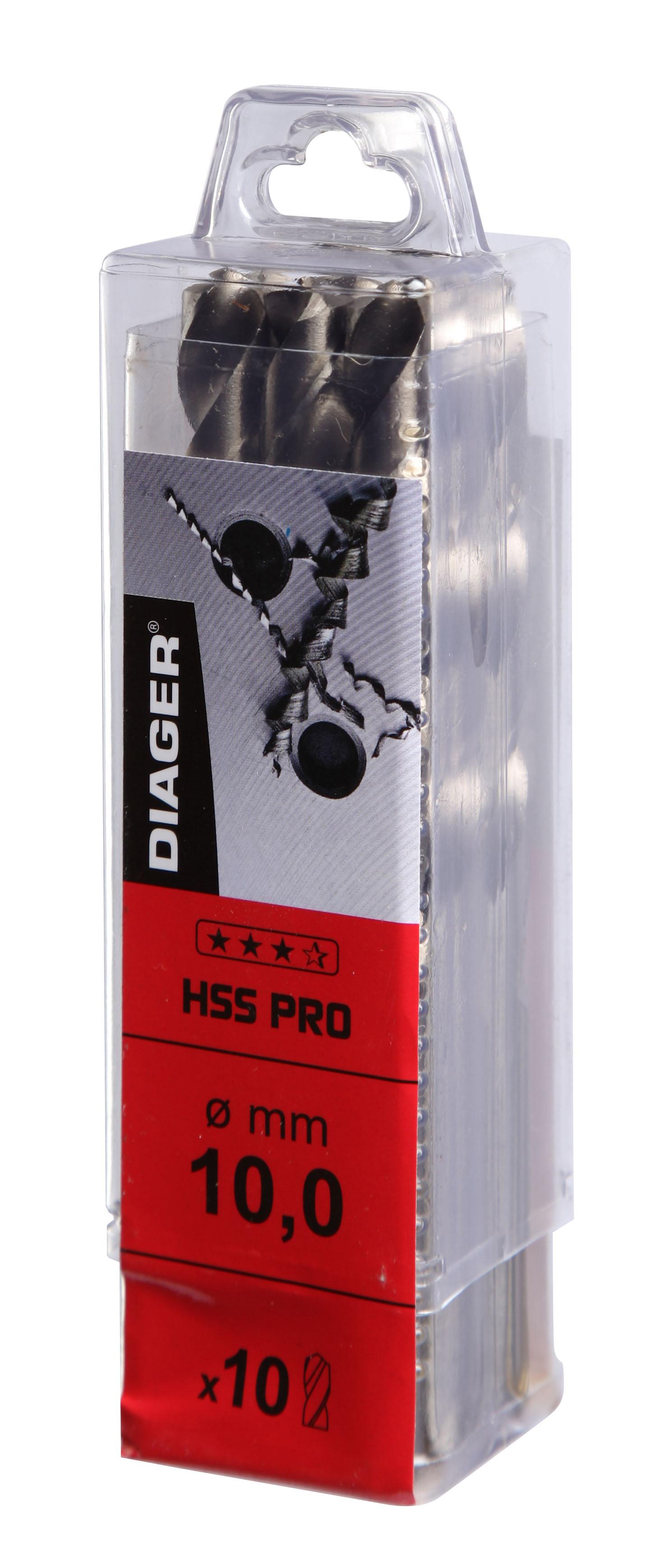 Perçage PRO Pack 2 ; 5 ou 10 forets HSS qualité Pro Série Courte - 726.jpg